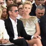 Charlize Theron en el desfile de dior