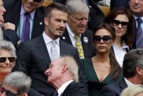 Wimbledon ardió en famosos