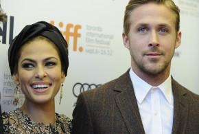 Un niño deseado, los papas: Gosling y Mendes
