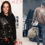 Michelle Rodriguez y Zac-Efron