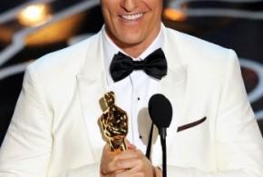 Matthew McConaughey recibe su estrella