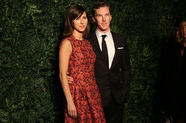 Benedict-Cumberbatch-and-Sophie-Hunter